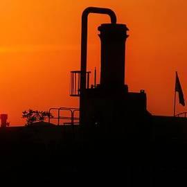 Charlie Cliques - Orange Sky at Sunset