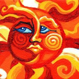 Genevieve Esson - sun face