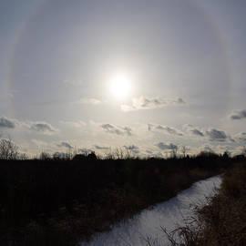 Georgia Mizuleva - Sun Halo - a Beautiful Optical Phenomenon
