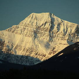 Ron Pringle - Sun rise on Mt Edith Cavell