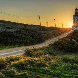 Marco Oliveira - Sun Sets Behind The Lighthouse