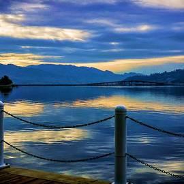 Jordan Blackstone - Sun Setting On Okanagan Lake