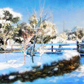 Douglas MooreZart - Sun White Snow and Blue Sky