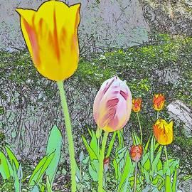 Kim Bemis - Tulips in Pastels 3