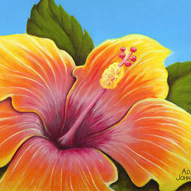 Adam Johnson - Sunburst Hibiscus