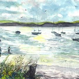 Carol Wisniewski - Sunday Afternoon Sailing