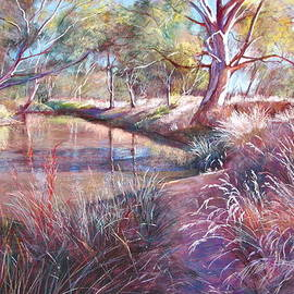Lynda Robinson - Sunday Creek at Dochery