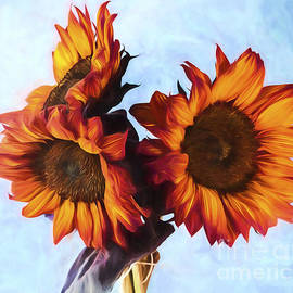 Shirley Mangini - Sunflower Bouquet