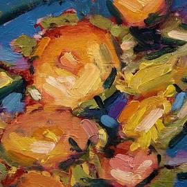 R W Goetting - Sunflower heads