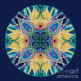 Francine Dufour Jones - Sunflower Mandala