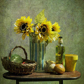 Sandra Selle Rodriguez - Sunflowers