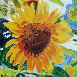 Susan Duda - Sunflower Tile