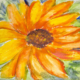 Cathy Anderson - Sunflower Watercolor