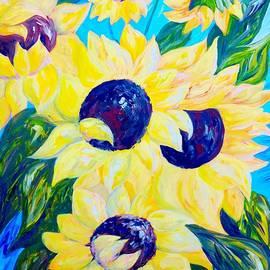 Eloise Schneider - Sunflowers Bathed in Light