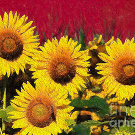 Anna Surface - Sunflowers Bold and Beautiful