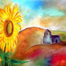 Rosa Garcia Sanchez - Sunflowers by the hermitage