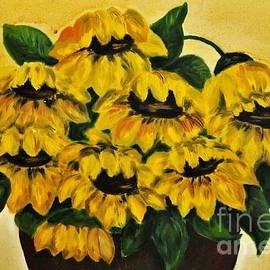 Teresa Wegrzyn - Sunflowers Day Later