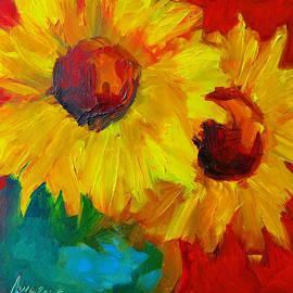 Patricia Awapara - Sunflowers Girasoles Still Life