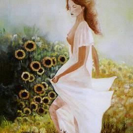 Vanda Caminiti - Sunflowers - Girasoli