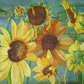 Melanie Harman - Sunflowers