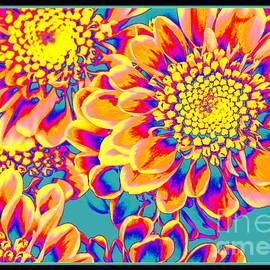 Photographic Art and Design by Dora Sofia Caputo - Sunflowers Pop Art