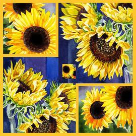 Irina Sztukowski - Sunflowers Sunny Collage