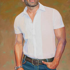 Dominique Amendola - Sunil Shetty portrait 2