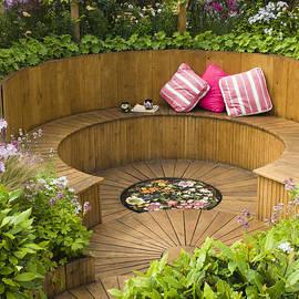 Anne Gilbert - Sunken Garden