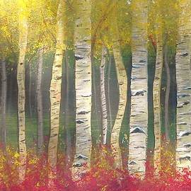 Carol Duarte - Sunlight on Aspens