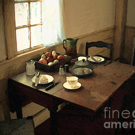 RC DeWinter - Sunlight on Dining Table