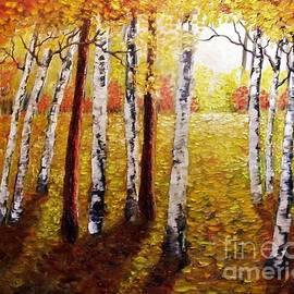 Peggy Miller - Sunlight through the trees