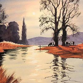 Bill Holkham - Sunlit River - Chess At Latimer