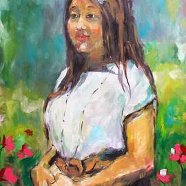 Becky Kim - Sunni in Garden
