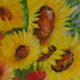 Louise Williams - Sunny Sunflowers