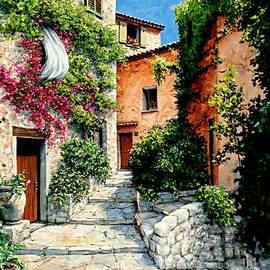 Sunny Walkway