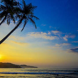 Erwin Sembiring - Sunrise at Sawarna Beach