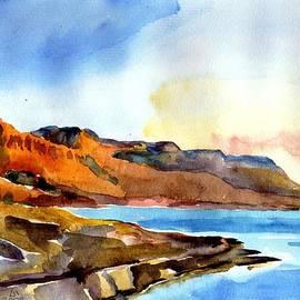 Anna Lobovikov-Katz - Sunrise at the Dead Sea