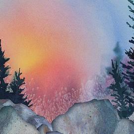 Teresa Ascone - Sunrise Behind Spruce
