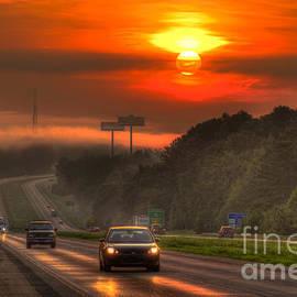 Reid Callaway - Sunrise The Way Home Interstate 20 Georgia