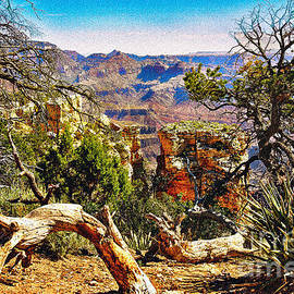 Dr Bob Johnston - Sunrise from Yaki Point