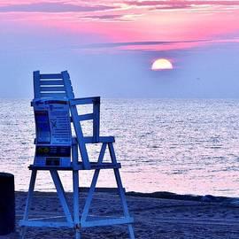 Kim Bemis - Sunrise Lifeguard Chair