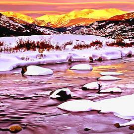 Bob and Nadine Johnston - Sunrise on a Cold Day