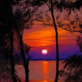 Bruce Nutting - Sunrise on an Island