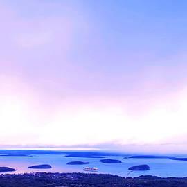 Paul Ge - Sunrise on Cadillac Mountain Acadia National Park
