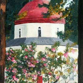 Nigel Radcliffe - Sunrise on Orthodox Church Kos