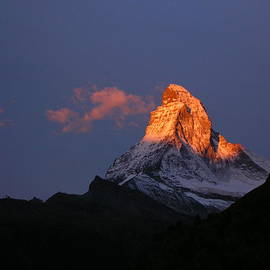 Micheline Heroux - Sunrise on the Matterhorn