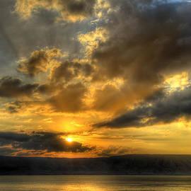 Ken Smith - Sunrise on the Sea of Galilee