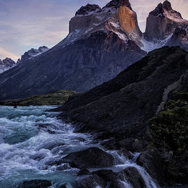 Timothy Hacker - Sunrise On Torres del Paine