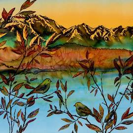 Carolyn Doe - Sunrise on Willows