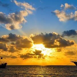 Jess Kraft - Sunrise over Pirate Ship